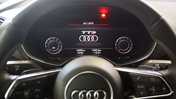 audi tt 8s hintergrundbild virtual cockpit