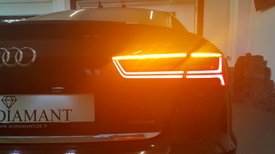 Modules to retrofit LED taillights with dynamic indicator